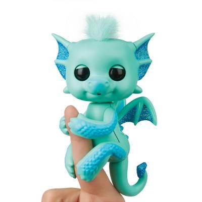 Интерактивная игрушка Fingerlings - Дракон Ноа, 12 см WowWee