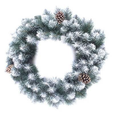 Венок рождественский Канадский 50 см Max Christmas