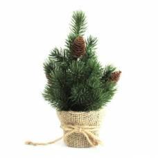 Декоративная елочка с шишками, 30.5 см Новогодняя сказка