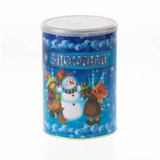 Металлическая банка с сюрпризом Snowmen