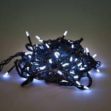 Гирлянда (белое свечение), 100 лампочек, 5 м Новогодняя сказка