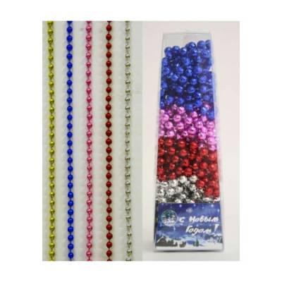 Набор декоративных цепочек из шариков, 1.8 м Snowmen