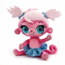 Мягкая игрушка Littlest Pet Shop - Обезьянка (звук), 17 см Мульти-Пульти