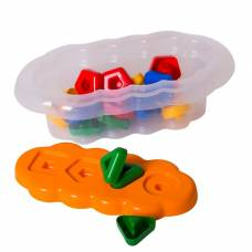 Игрушка развивающая «Магические фигурки», 20 элементов, цвет оранжевый Тигрес