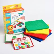 Детский развивающий игровой набор  EVA палочки + обучающие карточки Крошка Я