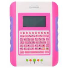 Детский обучающий планшет с цветным экраном (рус. / англ.), 35 функций Joy Toy