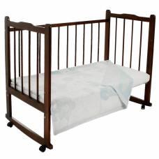Одеяло жаккардовое «Букашки», размер 100х140 см, белый/голубой, рап Владис