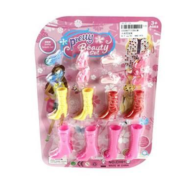 Набор обуви для кукол Pretty, 8 пар Shantou