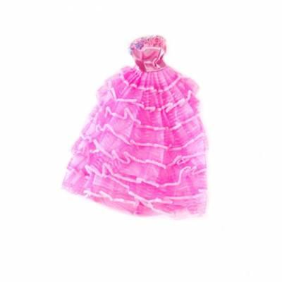 Вечернее платье для куклы