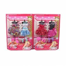 Набор из двух платьев для куклы Angena, с аксессуарами Shantou