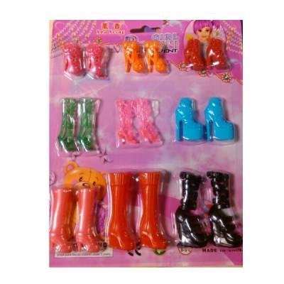 Набор из 9 пар кукольной обуви №2