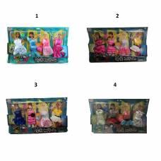 Набор одежды для кукол Sariel, 4 наряда Shenzhen Toys