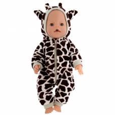Одежда для пупса «Комбинезон «Жирафик», р. 38-43 см КуклаПупс