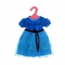 Одежда для пупса: платье вечернее, синее Маленькое чудо