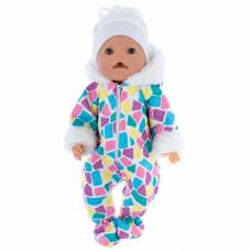 Одежда для пупса «Зимний комбинезон, шапочка», р. 38-43 см КуклаПупс