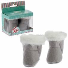 Валенки для кукол 38-43 см, цвет серый Colibri