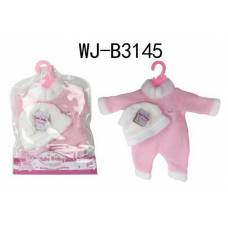 Одежда для куклы: комбинезон и шапочка Junfa Toys