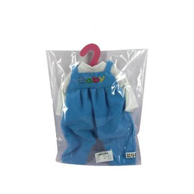 Комбинезон для куклы, голубой