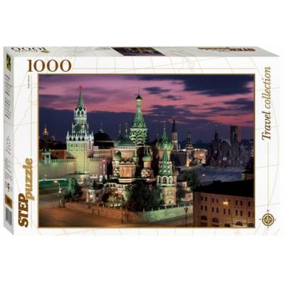 Пазл  Travel Collection - Красная площадь. Москва, 1000 деталей Step Puzzle