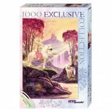 Пазл Glitter - Волшебная долина, 1000 элементов Step Puzzle