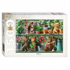 Пазл Art Collection - Котята, 1500 элементов Step Puzzle