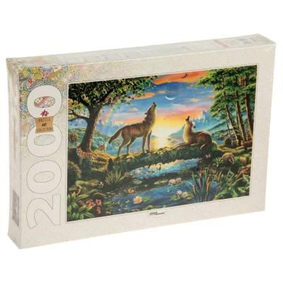 Пазл Art Collection - Волки, 2000 элементов Step Puzzle