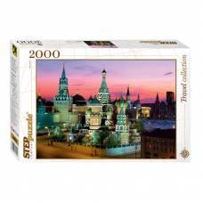 Пазл Travel Collection - Собор Василия Блаженного, 2000 элементов Step Puzzle
