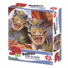 3D Пазл 50 элементов «Ти-Рекс селфи» Sima-Land