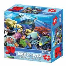 3D Пазл «Жизнь на рифе», 48 элементов Sima-Land