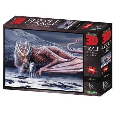 3D Пазл 500 эл.