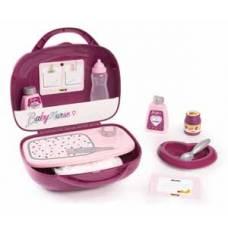 Baby Nurse Набор няни в чемоданчике, 12 акс., 24х10,7х24 см, 1/6 Smoby