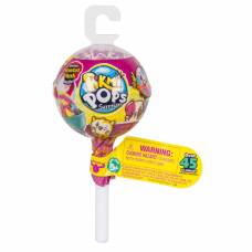 Плюшевая игрушка Pikmi Pops Surprise в упаковке с крючком, 1 серия Moose