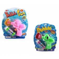Игрушечный пистолет Bubble Gun с мыльными пузырями