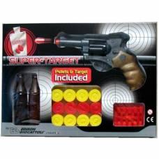 Пистолет с пульками и мишенью - Champions-Line Supertarget Edison