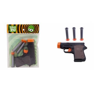 Игрушечное оружие - Пистолет на присосках Little Zu
