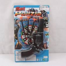 Детский револьвер с присосками Set Polizia