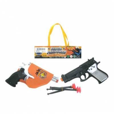 Набор из 2-х пистолетов с присосками, 14 х 17 х 4 см Junfa Toys