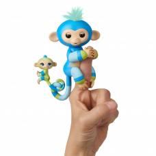 Интерактивная ручная обезьянка Fingerlings - Билли с малышом WowWee