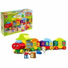 Конструктор «Числовой поезд», учимся считать, 50 деталей Kids Home Toys