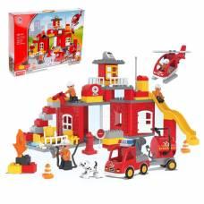 Конструктор «Пожарная станция», 90 деталей Kids Home Toys