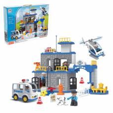 Конструктор «Полицейский участок», 90 деталей Kids Home Toys