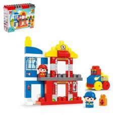 Конструктор большой «Пожарная станция», 67 деталей Kids Home Toys