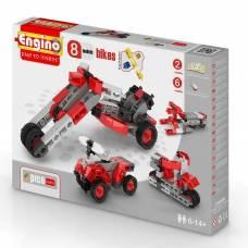 Детский конструктор Pico Builds Inventor - Мотоциклы, 8 моделей Engino