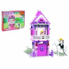 Конструктор «Девчонки: принцесса в замке», 167 деталей Cogo