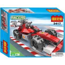 Конструктор Racers - Спортивная машина, 160 деталей Cogo
