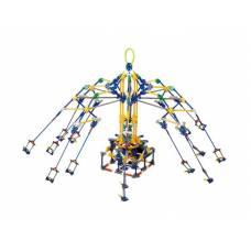 Конструктор RotarySwing (на бат.) - Карусель, 853 детали  Loz