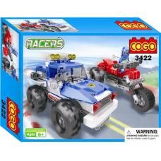 Конструктор Racers - Джип, 260 дет. Cogo