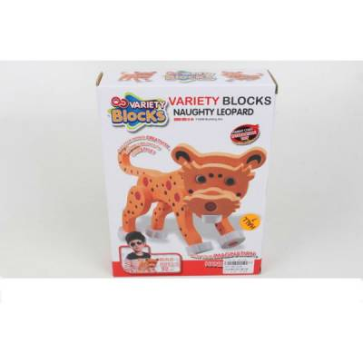 Конструктор Variety Blocks - Леопард, 92 детали