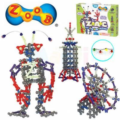 Конструктор Zoob Alien Creature (свет), 200 деталей Infinitoy