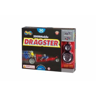 Конструктор Zoob Mobile - Dragster, 50 деталей Infinitoy